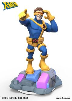 customs designed by artist Hector Moran (Hec) from Mexico (now presiding in Austria) showing off some potential X-Men designs if they ever came into the Disney Infinity universe.