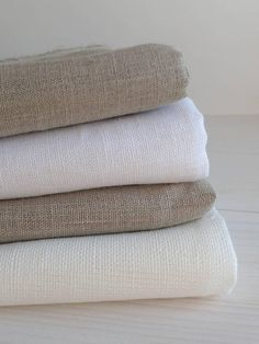 Items similar to Linen fabric - White linen fabric - Lightweight linen - Natural flax fabrics - Lightweight fabric - Farmhouse fabric by the yard on Etsy Farmhouse Fabric, Farmhouse Chic, Linen Fabric, Linen Bedding, Bed Linens, Designer Bed Sheets, Fabric Photography, Textiles, French Country Cottage