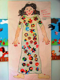 1ο Νηπιαγωγείο Βέλβεντου Κοζάνης- Η κυρία Χαρά που ζωγράφισαν τα παιδιά για όλα του κόσμου τα παιδιά