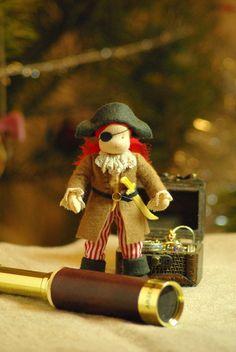 Pirate Waldorf Puppe  guter Freund für Boy / / von TaleWorld