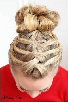 3 connected french braids in front