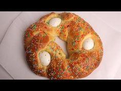 Sweet Italian Easter Bread Recipe - Laura Vitale - EverybodyLovesItalian.com