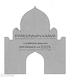 Piparkakkulinna | Kotivinkki Symbols, Letters, Christmas, Xmas, Letter, Navidad, Noel, Lettering, Natal