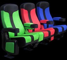 ©CinemaShop Home Theater Seating - The Action Star Authentic Theater Seat