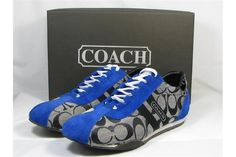 Coach Sneakers New Black Blue