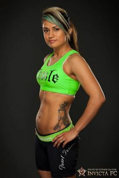 Pro MMA fighter, Nicdali Rivera-Calanoc #mma #femalemma