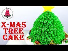 Christmas Tree Cake - How To With The Icing Artist - YouTube