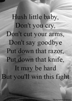 Discover and share Self Harm Poems And Quotes. Explore our collection of motivational and famous quotes by authors you know and love. Butterfly Project, Budget Book, Self Quotes, Life Quotes, Depression Quotes, Keep Fighting, Hush Hush, Little Babies, Deep Thoughts