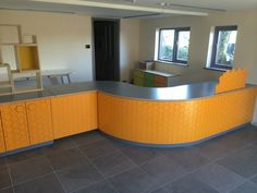 We were given the opportunity to design and build the furniture for the new reception space at Bosinver Fam Cottages in Cornwall. Built predominantly from FSC registered sustainable Birchplywood and using EGGER laminate.