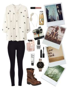 """""""I keep polarids like memories"""" by mad4sewing ❤ liked on Polyvore featuring Polaroid, Steve Madden, Olivia Burton, Abercrombie & Fitch, Bobbi Brown Cosmetics, NYX, OPI, Monsoon, women's clothing and women"""