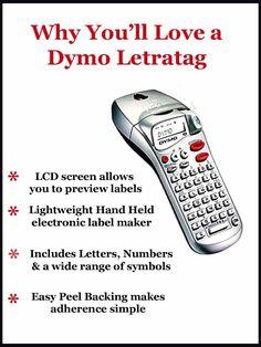 Dymo Letratag label printer