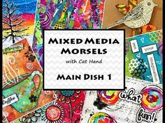 First Mixed Media Morsel video of 2017! I'm altering a box to create a little art canvas. Hope you will play along with me! :) Mixed Media Morsels Facebook G...