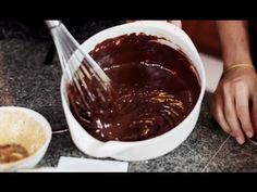 Whisky Chocolate Pudding Quick 15 minute Dessert by The Fat Kid Inside - YouTube