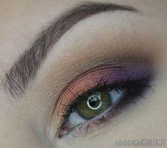 Copper makeup more on my blog: http://www.agwerblog.pl/2015/03/miedz-z-fioletem-dla-zielonych-i.html