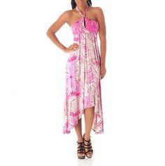 Keyhole Halter Maxi Dress <3