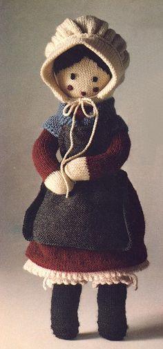 Knit Grandmother Doll