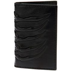 ALEXANDER MCQUEEN claw embossed card wallet