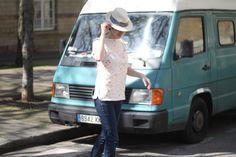 Blouse # 9 : Marin d'eau douce - Annie Coton