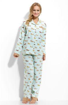 b7458c2448 munki-munki-weiner-dogs-flannel-pajamas Flannel Pajamas
