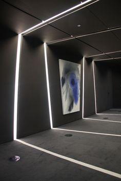 cero architects celingwallfloor lights