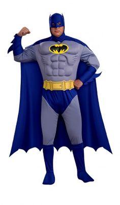 Déguisement Luxe Batman™ B Muscle 3D - Adulte