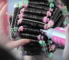 Perm Rods, Permed Hairstyles, Curlers, Old And New, Hair Beauty, Perms, Tumblr, Hair Styles, Drawing Rooms