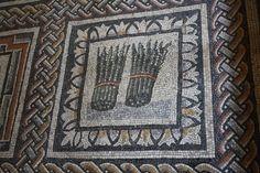 Asparagus, Roman Mosaic (Illustration) - Ancient History Encyclopedia