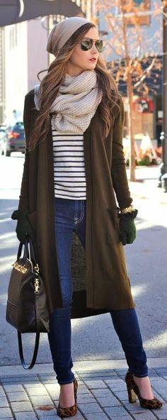 Chocolate City Chic Long Cardigan by For All Things Lovely