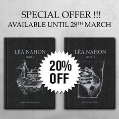 Special offer available until 28th march 2017Sketchbook by Léa NahonSize: 15 x 20 cmHard cover64 pages eachTwo bookmarks free!