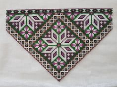 Min fjerde bringeduk Sampler Quilts, Yarns, Cross Stitch Patterns, Bohemian Rug, Needlework, Diy And Crafts, Embroidery, Rugs, Design