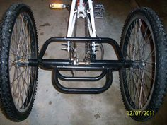 Trike Bike Bicycle to Tricycle Conversion Kit
