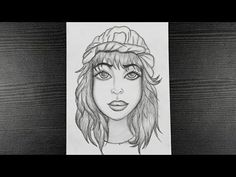 How To Draw A Beautiful Girl || A Girl With Beautiful Hair || Face Drawing || Pencil Drawing Easy - YouTube Easy Drawings, Pencil Drawings, Beautiful Girl Drawing, Easy Youtube, Face, Easy Designs To Draw, Simple Drawings, Faces
