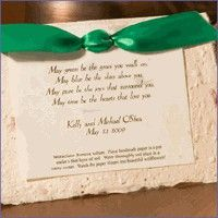 These Irish Blessing Eco-Friendly Plantable Poem Wedding Favors are a great way to boast your heritage and give guests a unique gift to take home. Wedding Favours For Ladies, Nautical Wedding Favors, Wedding Favours Luxury, Honey Wedding Favors, Seed Wedding Favors, Inexpensive Wedding Favors, Diy Wedding Flowers, Wedding Ideas, Wedding Reception