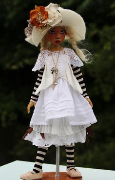 An amazing doll by Kaye Wiggs