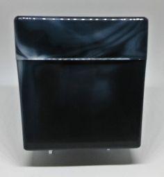 Kingstar Mega Black King Size Plastic Cigarette Case - Holds 50 Cigarettes!