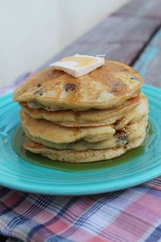 Maple Hazelnut Corn Cakes