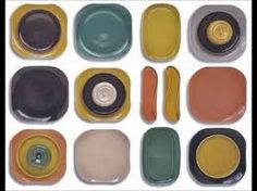 Image result for color chart for russel wright american modern