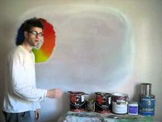 How to Paint - Color Theory - Mural Joe..uses interior acrylic latex paint, low sheen