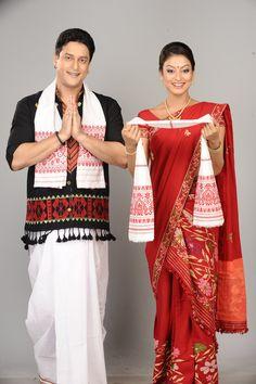 Traditional Assamese dress