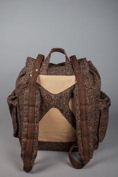 LocalBrand.co.id | WM Brown Bagpack by Wearmustache
