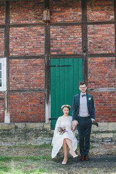 DIY-Hochzeit auf dem Bauernhof #wedding