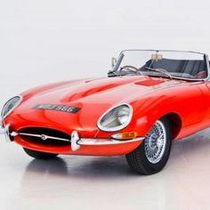 1964 Jaguar E Type.