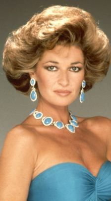 Stephanie Beacham rocking Big Hair back in the 80's