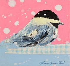 This cottage chic animal portrait chickadee bird painting print will be made to orderespecially for you.This listing is for one 12x12inch print.To get a clear vision on what size print you need for your wallspace, please measure your wall.The photos in the listing are examples only, and are not true to size.Larger print sizes areavailable. Message me for the price list, and Id be happy to put up a listing for you.    Each print will be printed within three to five days once you place your…