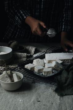 Gourmet Marshmallows   Styled by Kay Isabedra Gourmet Marshmallow, Prop Styling, Marshmallows, Food, Style, Marshmallow, Swag, Essen, Meals