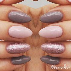 Gel Nails... Polish - Bluesky Polishes 63921 QXG210 'Lace' 63903 'Fairy Dust' #nails #gelnails #bluesky #blueskynails