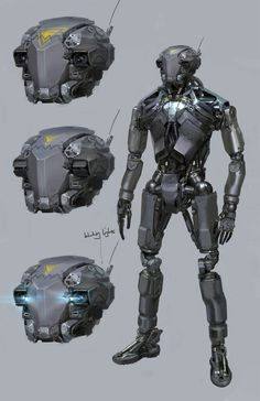 concept robots: Concept robots by Long Ouyang