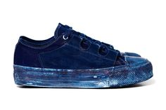 "Needles Asymmetric Sneaker ""Ghillie/Indigo"""