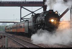 RailPictures.Net Photo: MILW 261 Chicago, Milwaukee, St. Paul & Pacific Steam 4-8-4 at Duluth, Minnesota by Kevin Andrusia