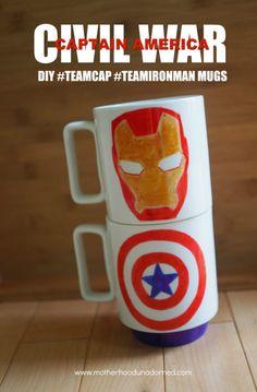 DIY #TeamCap and #Te